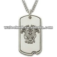 2012 promotion Engravable dog tag