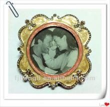 Happy Wedding metal photo frame
