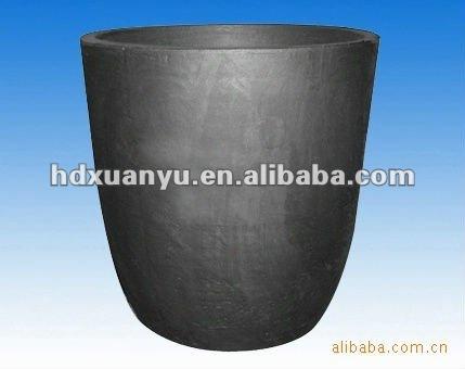 silicon carbide crucible for melting alumina