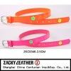 2012 kid's fashion neon color belt/ shiny belt
