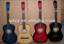 "36""inch wooden guitar music toys for children"