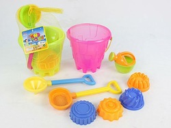 Plastic sand beach toy sets for kids,sand play sets.