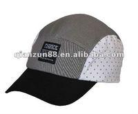2012 Popular 5 panel bent brim snapback hats