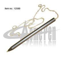 Desk chain ball pen table pen