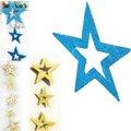 gran brillo de espuma estrella de navidad para la decoración