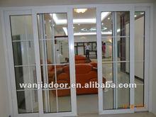 yeni tasarım dayanıklı Wanjia Pvc sürgülü kapı wj S D 002