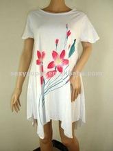 2012 cotton Elegant Women Long Beach Dress made in China R2092