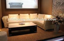home big size corner soft down sofa set 667#