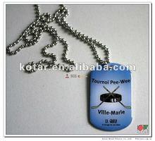 Dog collar hang, dog tag