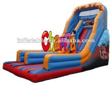 Car inflatable jump&slide combo