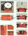 De extinción deincendios de alta resistencia de la fibra de la vida- ahorro de salto del amortiguador, de seguridad cojines de aire