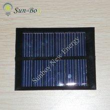 3V 160mA Epoxy Resin PV Panel 75*60mm