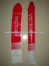 Bullet head inflatable cheering stick