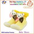 güzel hayvan kauçuk taban bebek yüksek top yürüyüş ayakkabıları