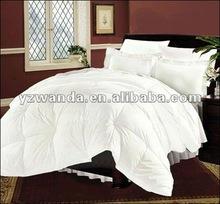 100% cotton white duck/goose down beddingset