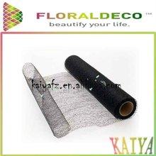 Black Cloud Fiber/Flower Wrap Roll