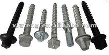 Mild steel sleeper bolts