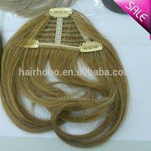 100 human hair bang