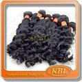 100% roh vingin natürliche wellig indische haar bündel