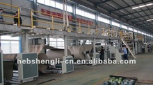 180-1400 series corrugated paperboard production line