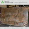Antiqued Finish Rainforest Brown Marble Slab