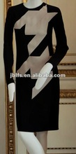 New style color combinations of dresses