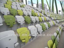 school,stadium,church,theater,arena,multi-purpose used public anti-fire tip-up stadium chair ,sports stadium seat