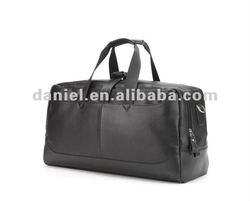 2012 Business design men leather travel bag
