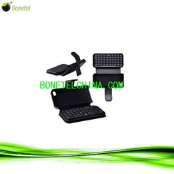 mobile phone leather case for iphone 4s with keyboard with many color