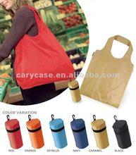 STOCK nylon foldable shopping bags