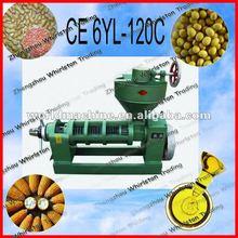 140 CE 6YL-120C high efficiency screw press oil expeller