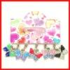 fashion keychain butterfly key rings fobs key chain