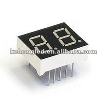 Two digit 0.31inch red led digital display (7segment)
