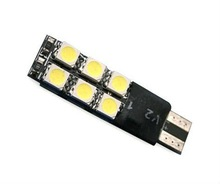T10 12-SMD 5050 LED White lights bulbs W5W 194 168 parking license lamp