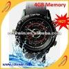 mini dv waterproof watch camera,mini camera with 4gb memory and high quality image