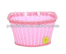 new design bicycle basket wicker for gril