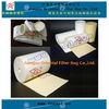 High temperature fiberglass nonwoven filter bag