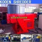 kooen advanced technology plastic single shaft shredder