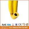 "Fiber Braided Yellow Flexible 5/16"" PVC LPG Gas Hose For Stove, PVC Gas Hose, High Pressure PVC Gas Hose From Manufacturer"
