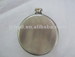stainless steel 8oz round hip flask