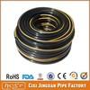 """Home Application Low Pressure Flexible 3/8"""" 9mm Black PVC Gas LPG Hose Pipes, Black Plastic PVC Pipe, PVC Braided Hose"""