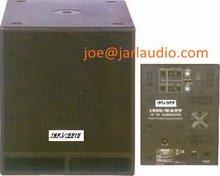 vibration wooden subwoofer, protable mini speaker, disco sound wooden speaker