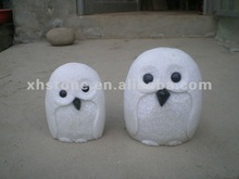 2012 popular garden statue white marble stone mini owl carvings owl sculptures
