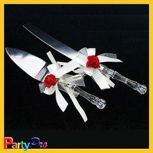 high quality exquisite cake/pizza knife&small shovel for wedding souvenir