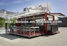 container mobile restaurant (meeting Australia,CE,Canada standard)