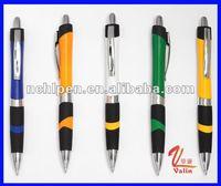 rubber plastic ball pen