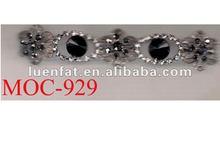 shining flower rhinestone trimiming chain,