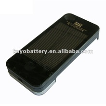 Solar mobile phone charger for iPhone 4/4S, 1700mAh 5.0V, 105g