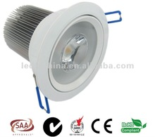 Chinese Supplier 13W SAA Approved COB LED Downlight with Citizen Chip high lumens