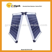 15w solar cell panel poly crystalline silicon